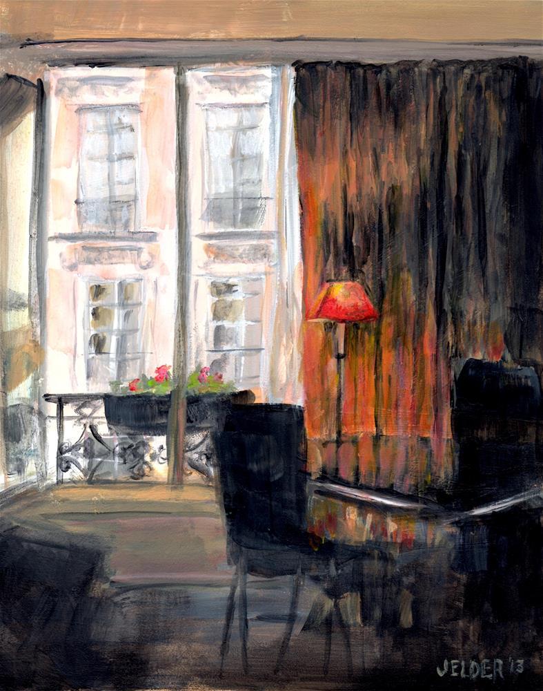 """Paris No. 11"" original fine art by Judith Elder"