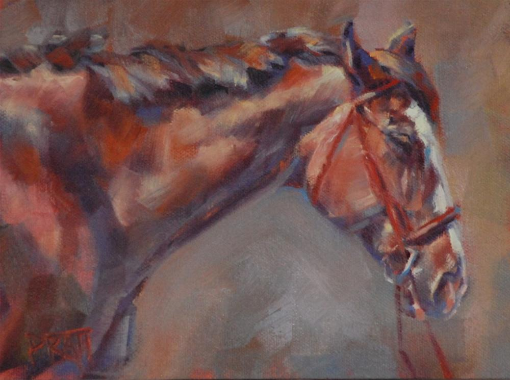 """Afternoon Delight"" original fine art by Jennifer Pratt"