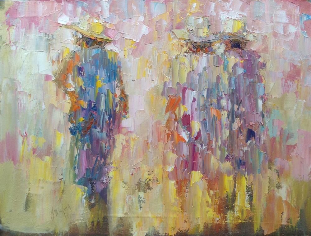 """""""Ladies"""" original fine art by Joseph Mahon"""