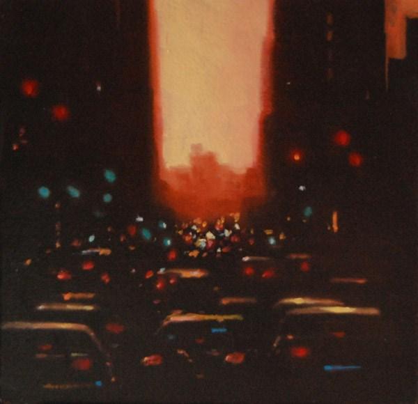 """""""MAGIC HOUR"""" original fine art by Gerald Schwartz"""