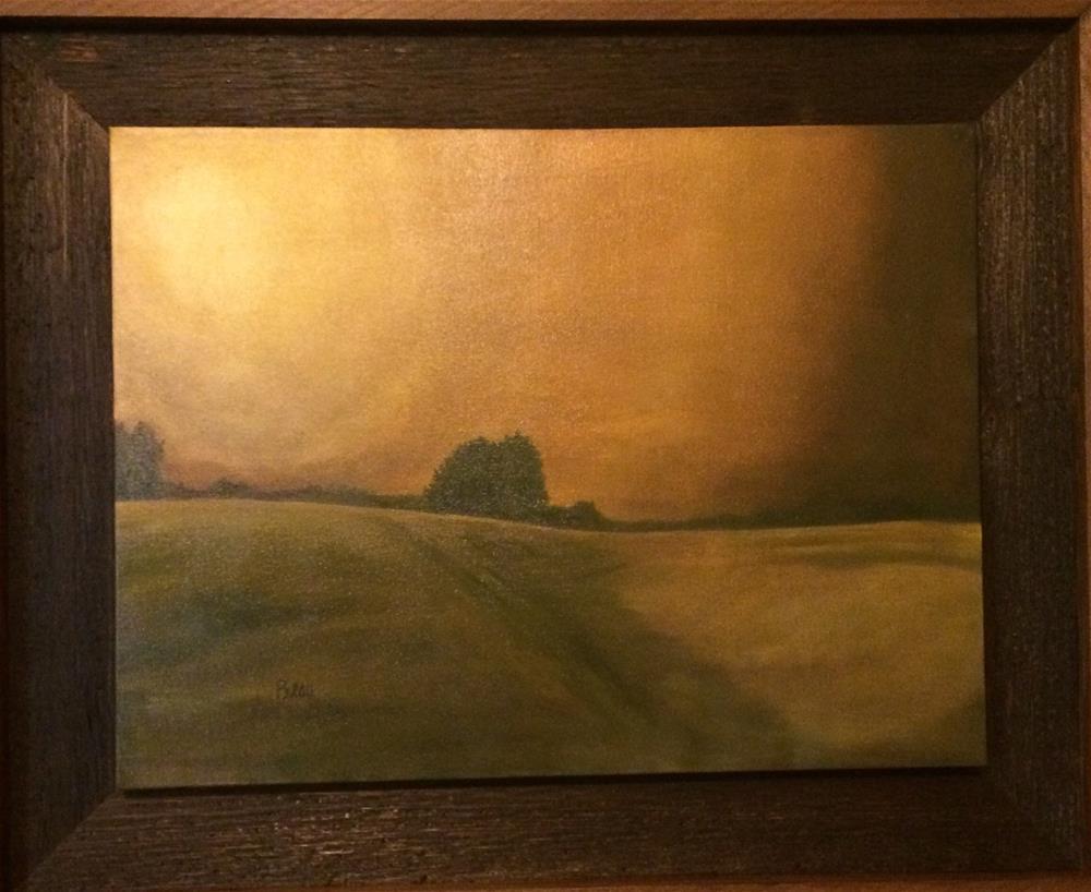 """""""Bronze sky"""" original fine art by Beau Crump"""