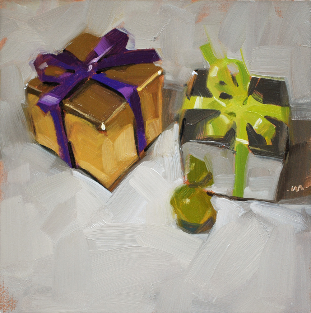 """Gifts & Grape"" original fine art by Carol Marine"