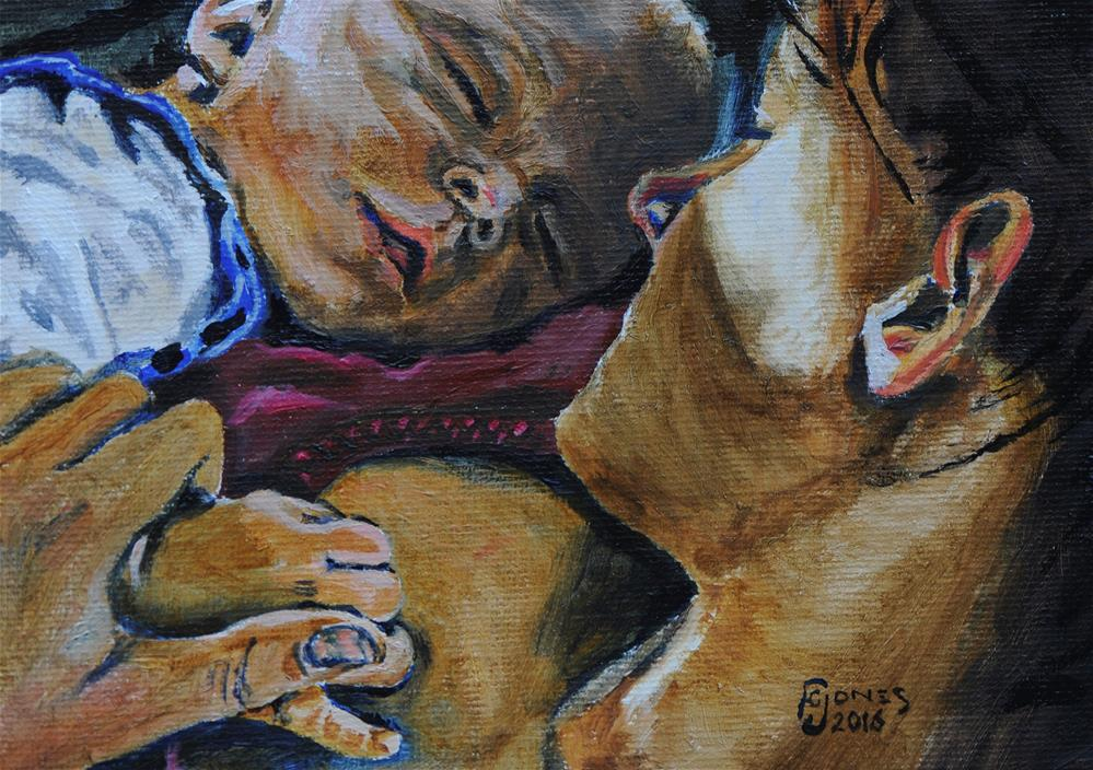 """Truce"" original fine art by Fred Jones"