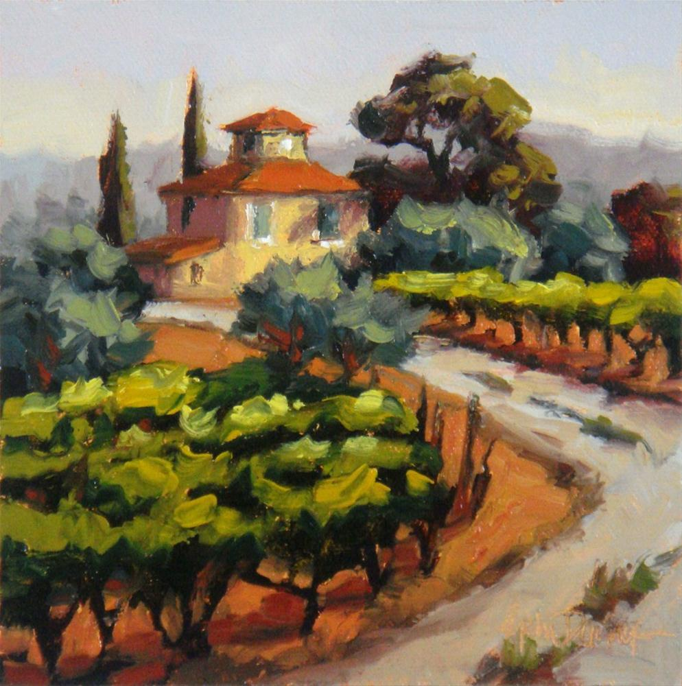 """Truly Tuscany"" original fine art by Erin Dertner"
