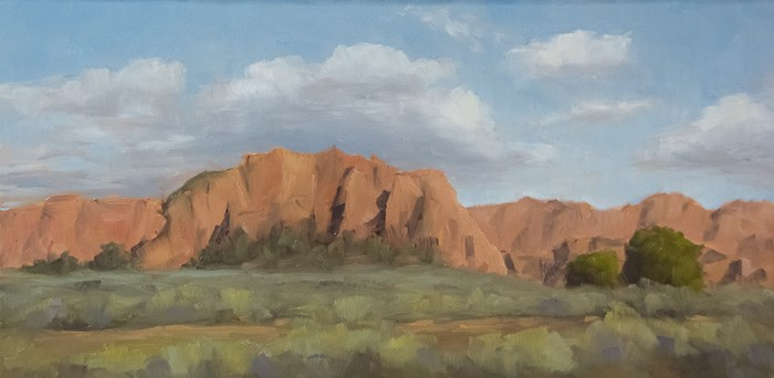 """Kolob Reservoir Road"" original fine art by Randall Smith"