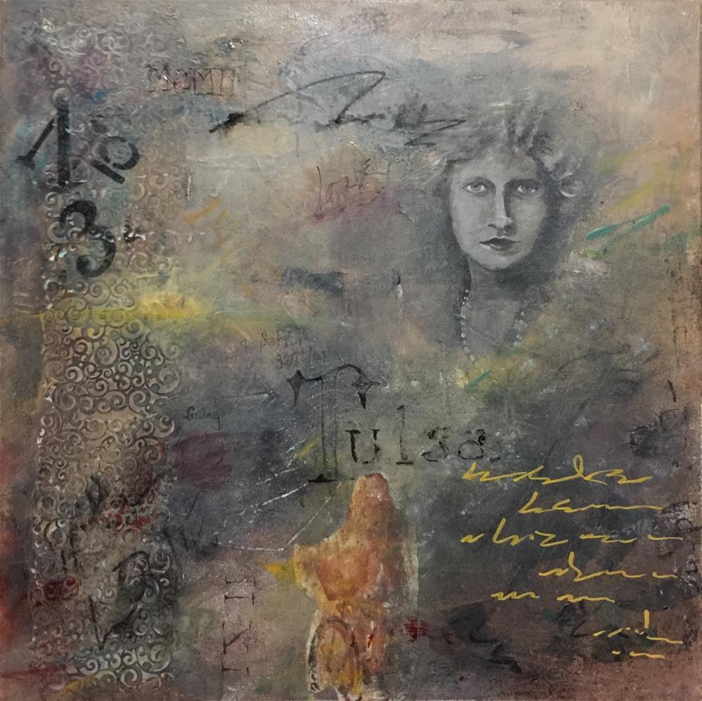 """Set Free in Tulsa"" original fine art by Linda Dunbar"