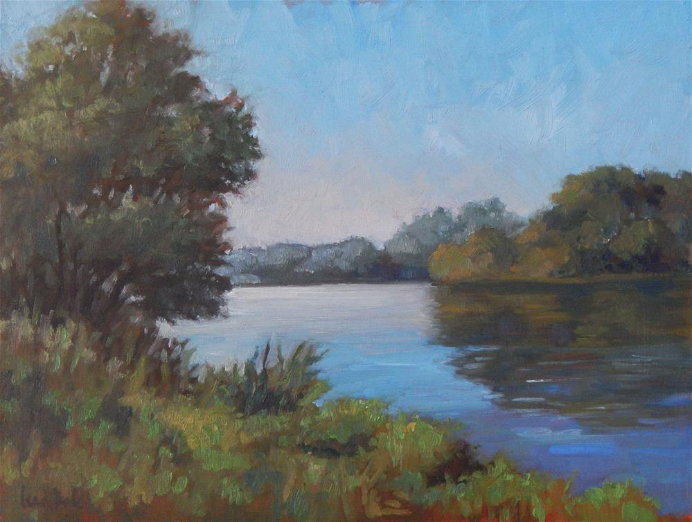 """The Water's Edge"" original fine art by Lisa Kyle"