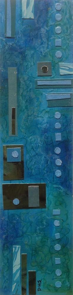 """""""Paper Prayer 28"""" original fine art by Dotty  Seiter"""