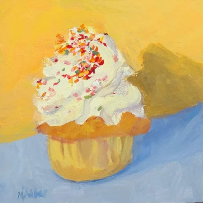 """Sweet Treat"" original fine art by Meredith Adler"