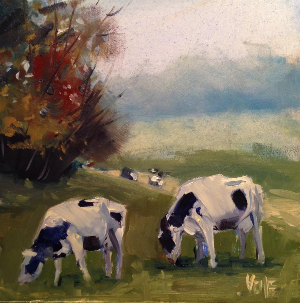"""#216 Two of a Kind"" original fine art by Patty Voje"