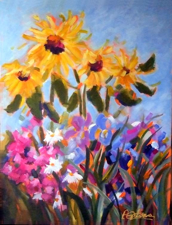 Summer Sampler original fine art by Pamela Gatens