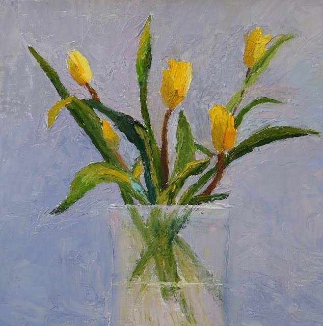 """Seeking the Light"" original fine art by Sharon Lewis"