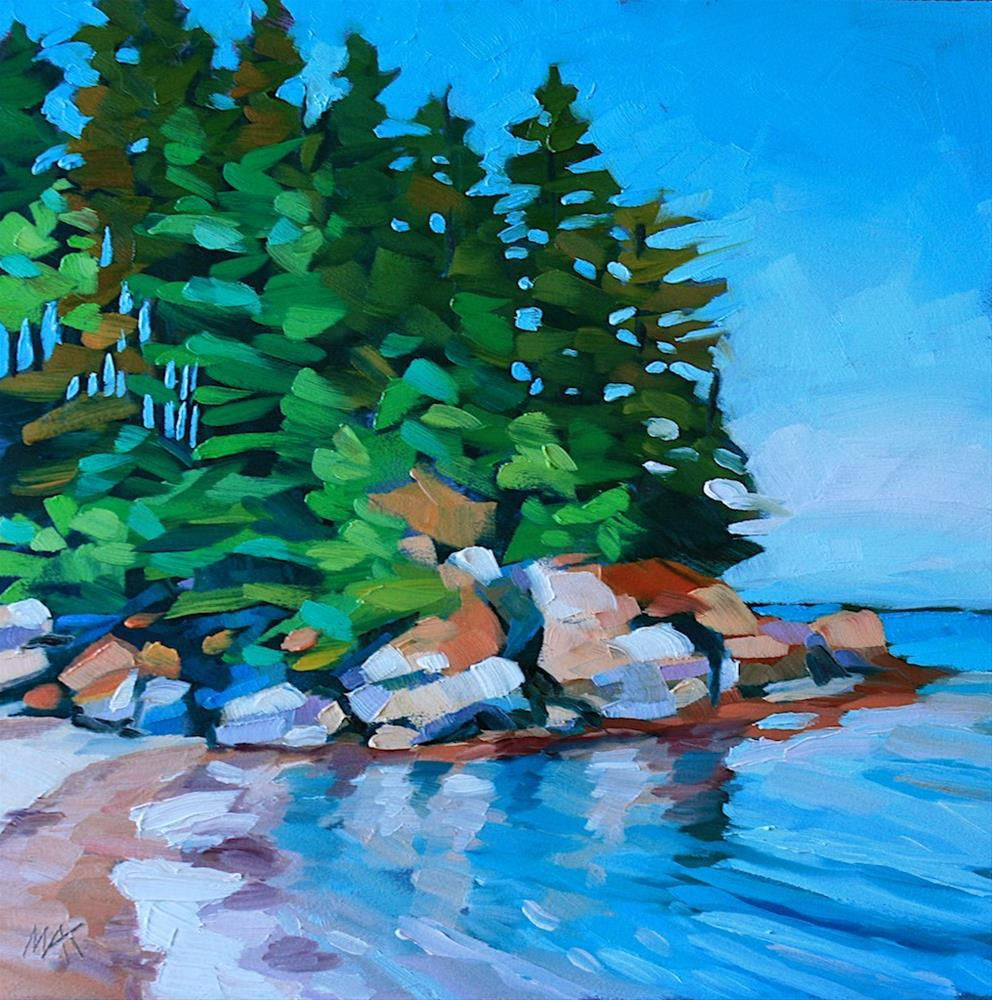 """""""Blue Day 2"""" original fine art by Mary Anne Cary"""