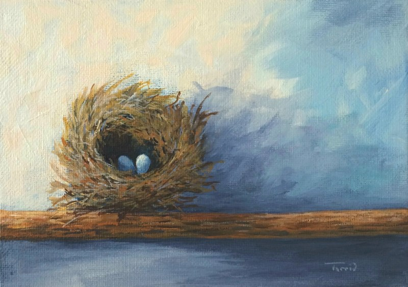 """The Nest"" original fine art by Torrie Smiley"