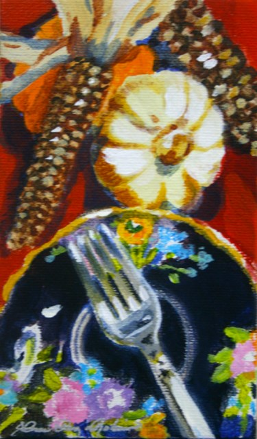 """Good Eats"" original fine art by JoAnne Perez Robinson"