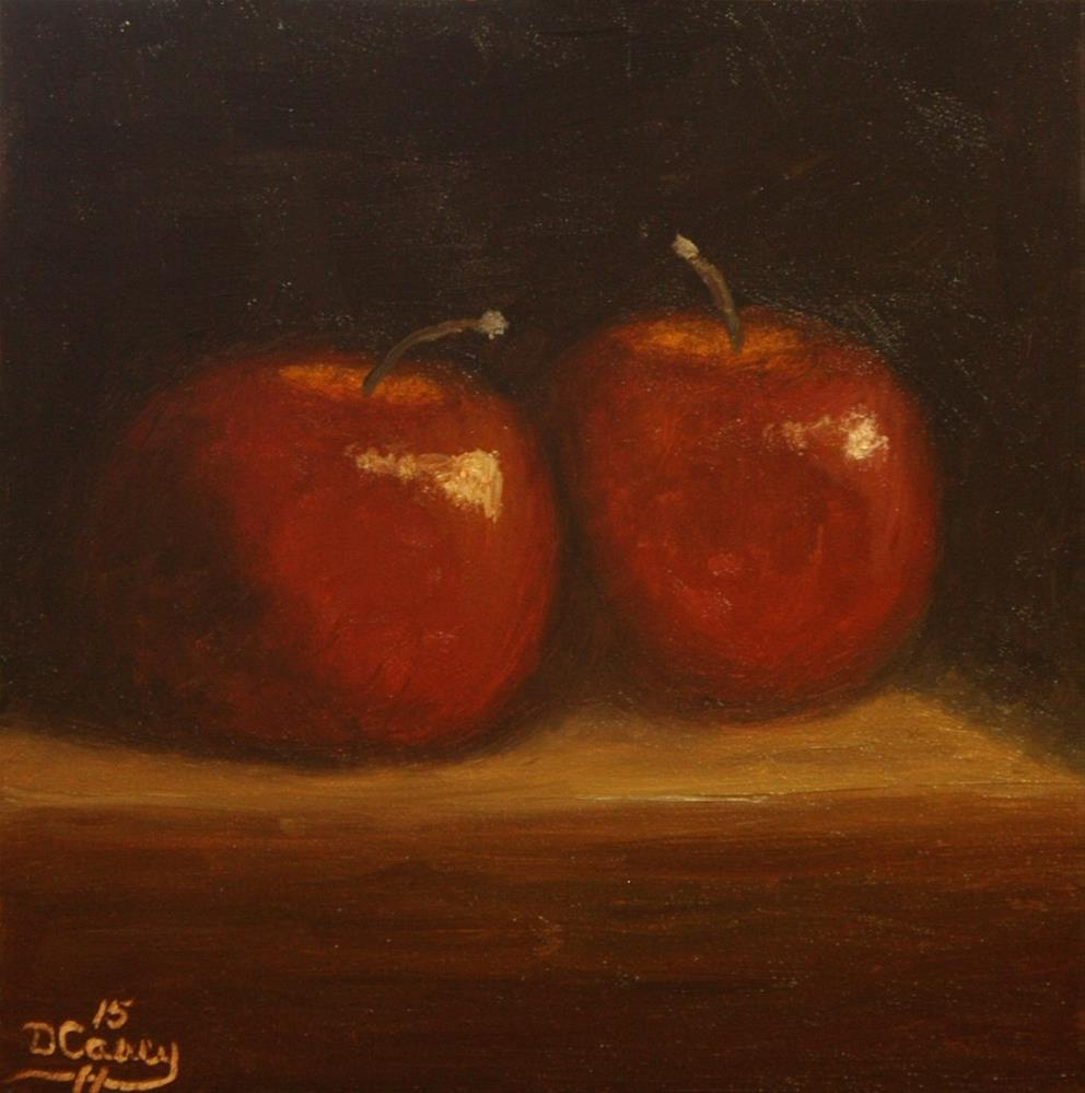 """Apples 011"" original fine art by Dave Casey"