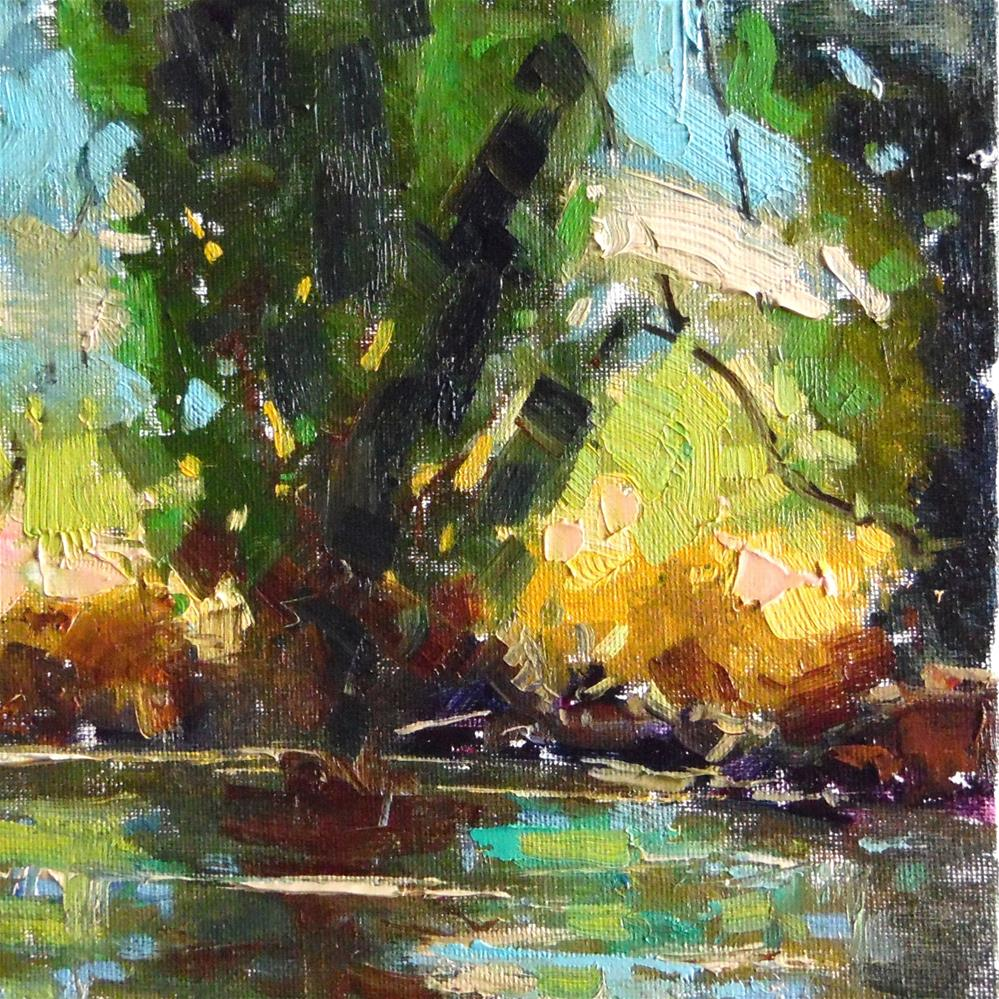 """Peaceful Reflections "" original fine art by Michael Clark"