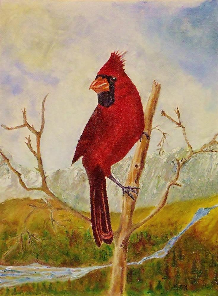 """The Land Surveyor"" original fine art by Mike Caitham"