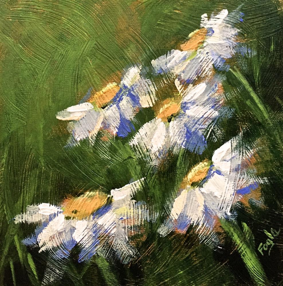 """15-17 Just Daisy"" original fine art by Rachel Fogle"