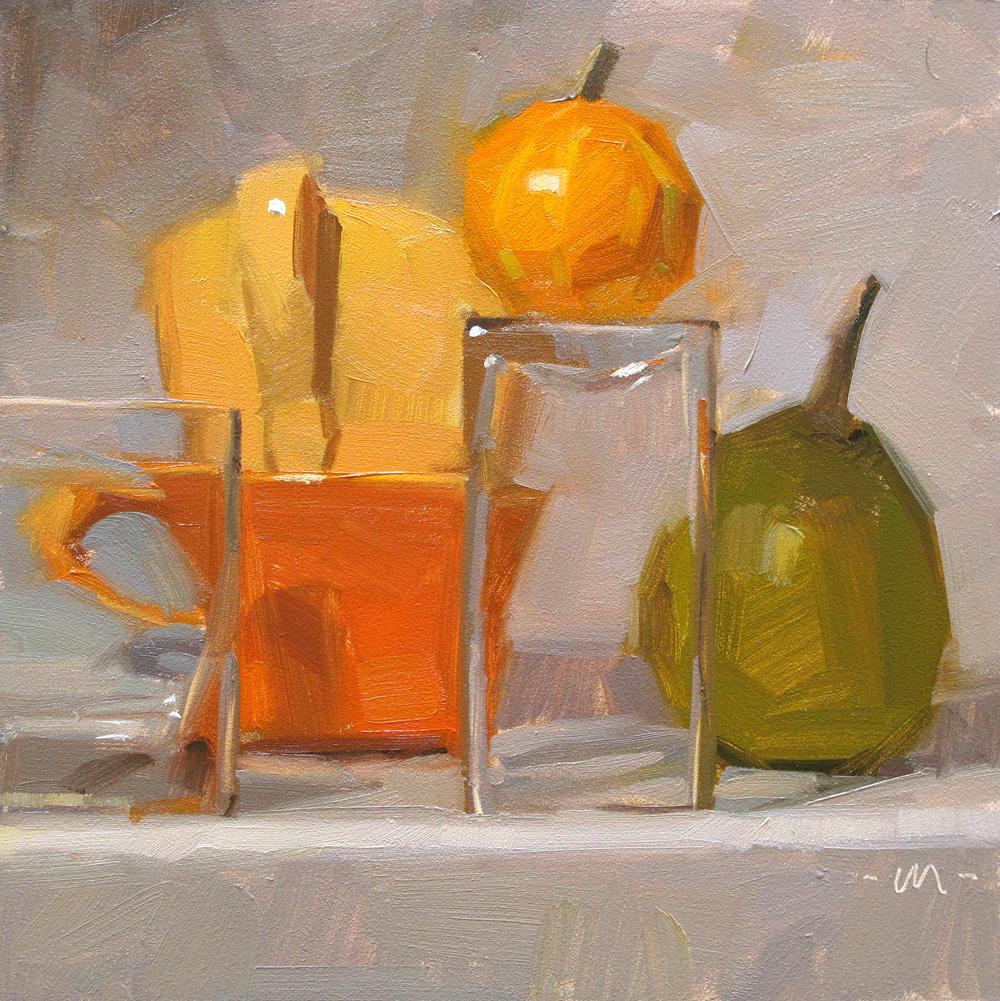 """Fall Arrangement"" original fine art by Carol Marine"