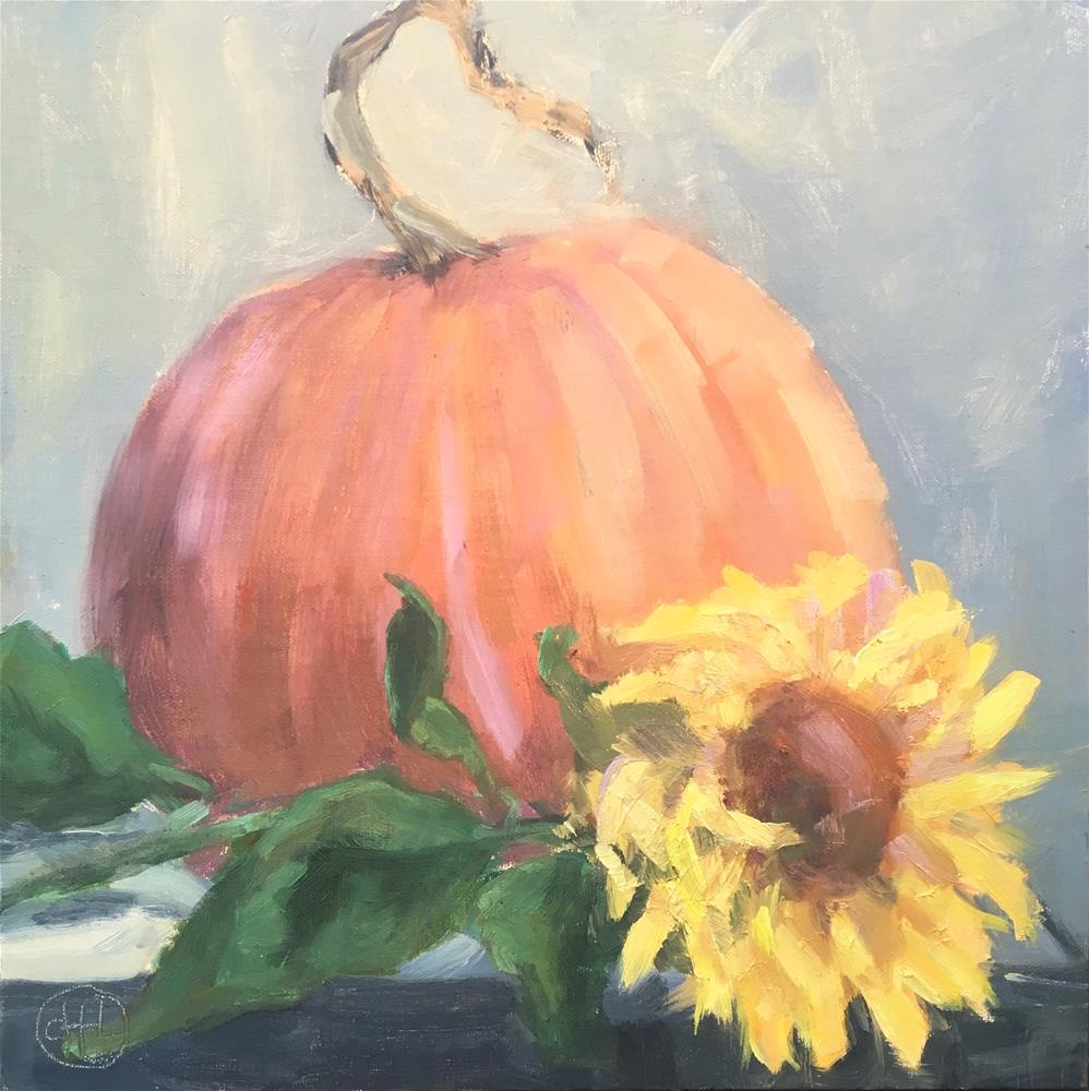 """September warmth"" original fine art by Dottie  T  Leatherwood"