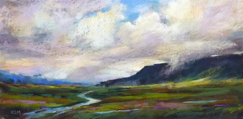 """Top Paintings and Places of 2014......Iceland!"" original fine art by Karen Margulis"