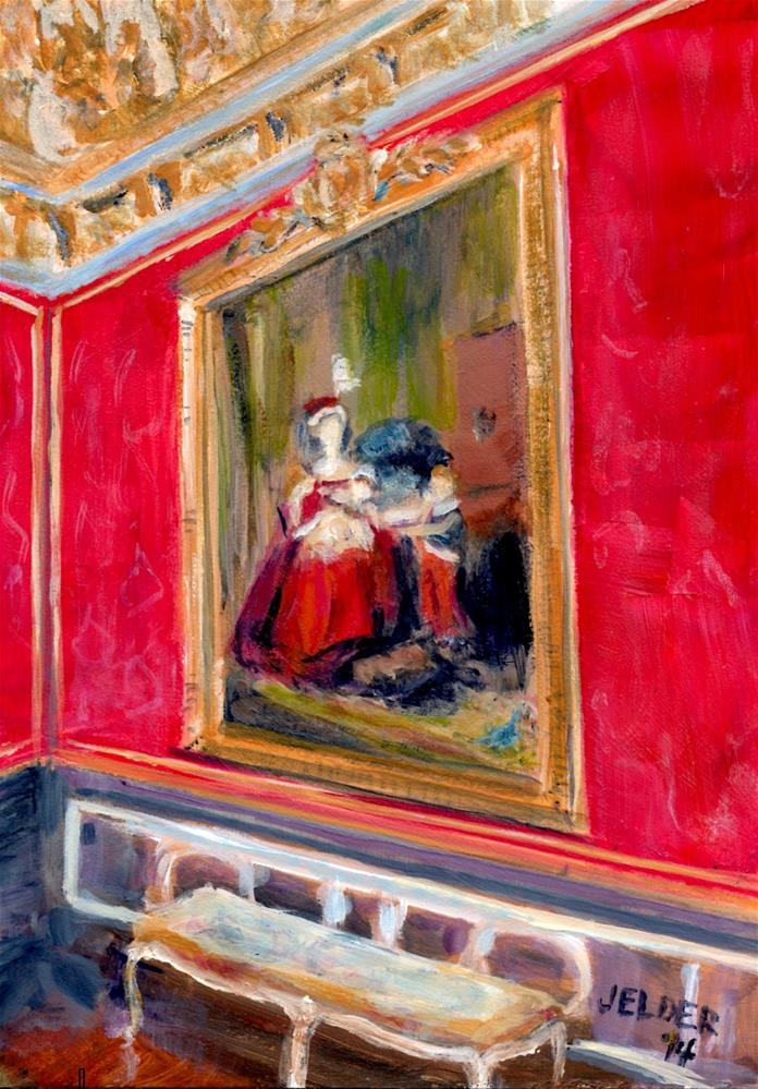 """Paris No. 61"" original fine art by Judith Elder"
