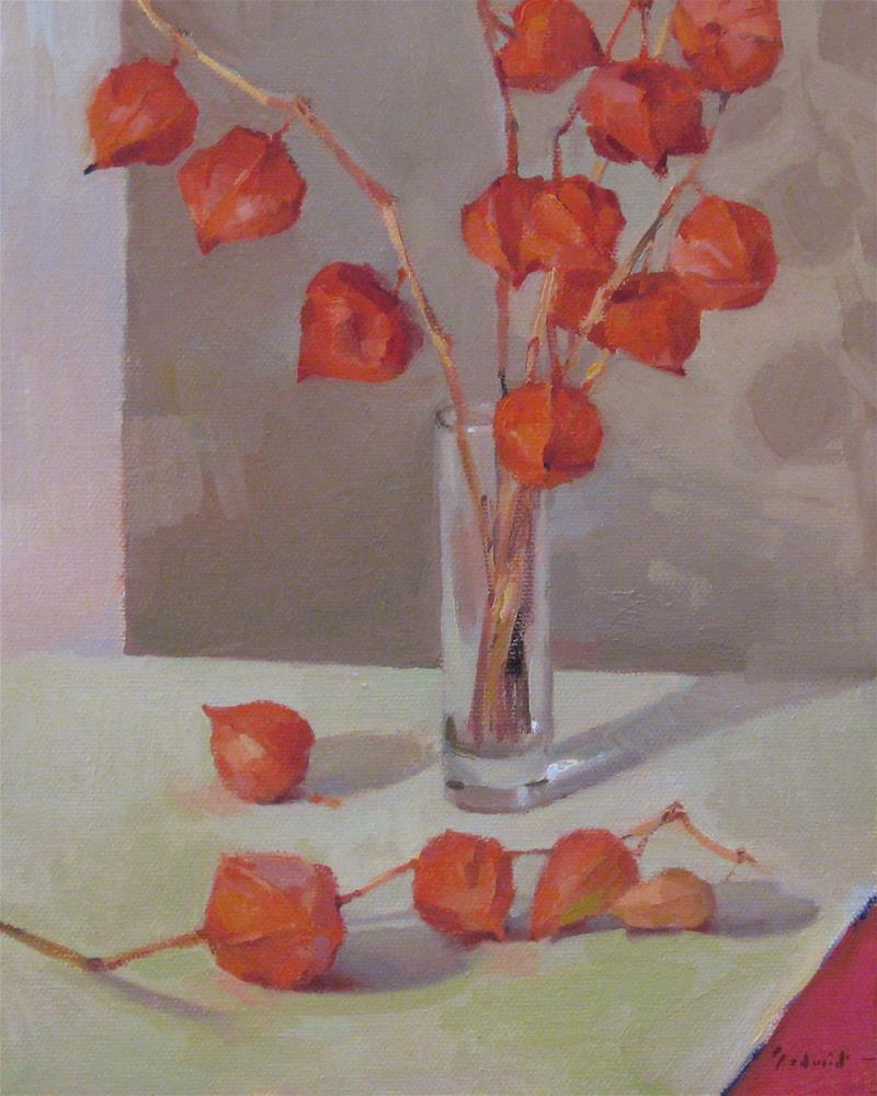 """Chinese Lanterns"" original fine art by Sarah Sedwick"