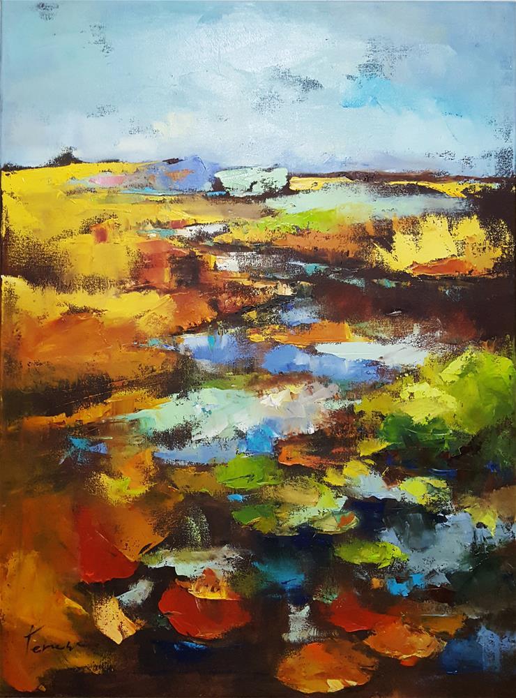 """dayside marsh"" original fine art by Teresa Yoo"