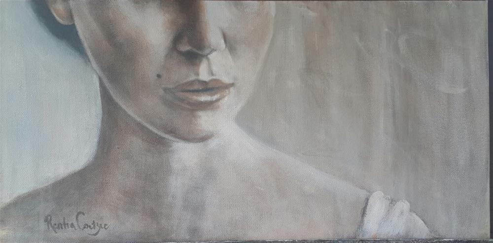 """Essence of a woman"" original fine art by Rentia Coetzee"