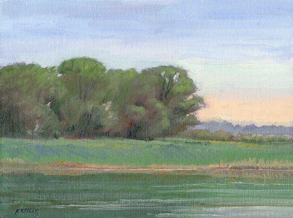 """Spring at Peschel"" original fine art by Kath Reilly"