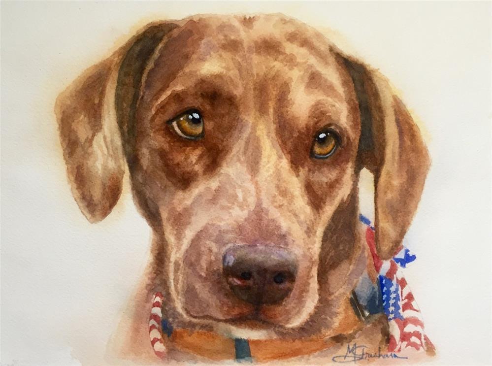 """""""Grits"""" original fine art by Melissa Gresham"""