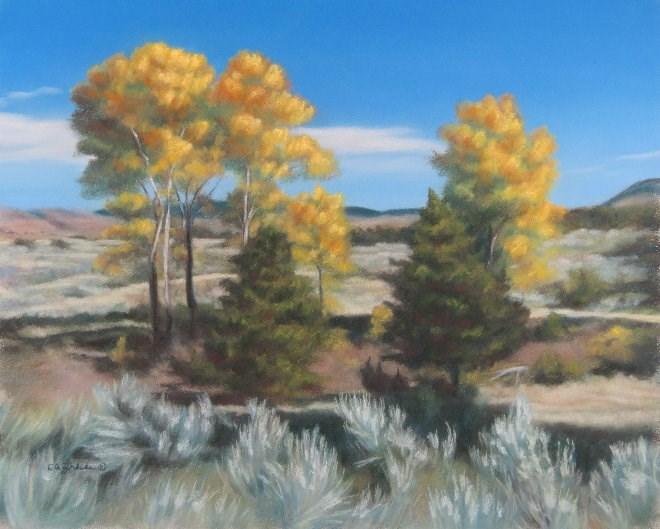 """Deep Shadows"" original fine art by Carol Zirkle"