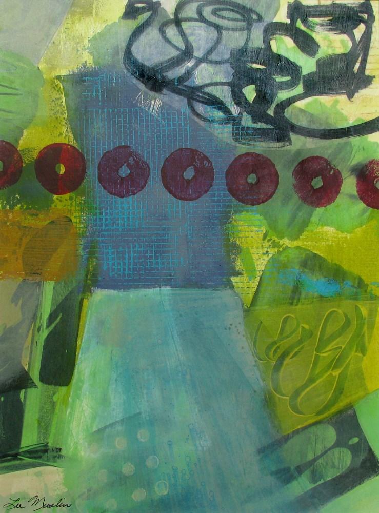 """March Madness"" original fine art by Lee Muslin"