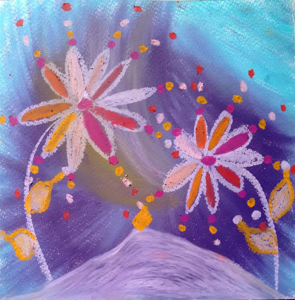 """""""Celebrating Soul"""" original fine art by Adéla Svobodová"""