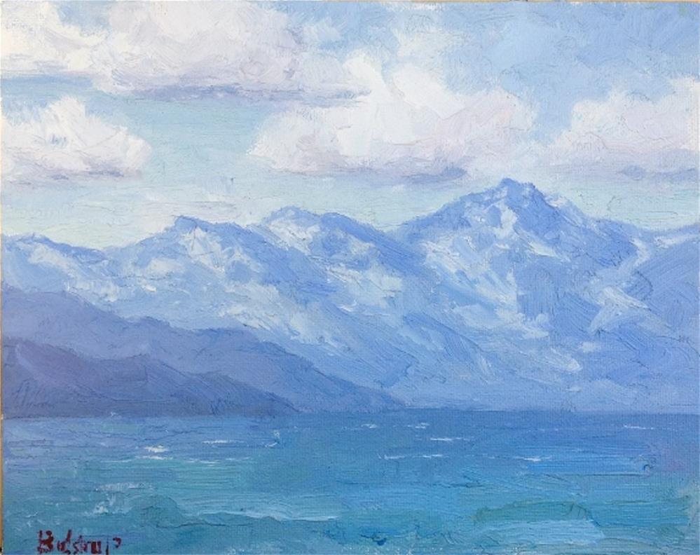 """Tahoe Blues"" original fine art by Mark Bidstrup"