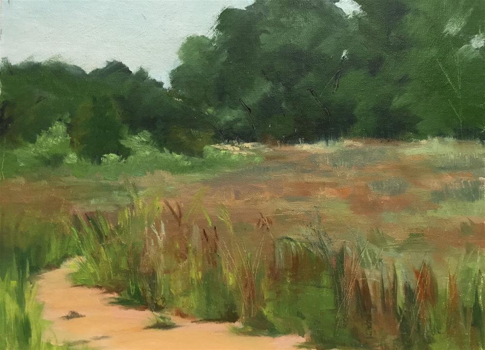 """Grasses at French Park"" original fine art by Judith Anderson"