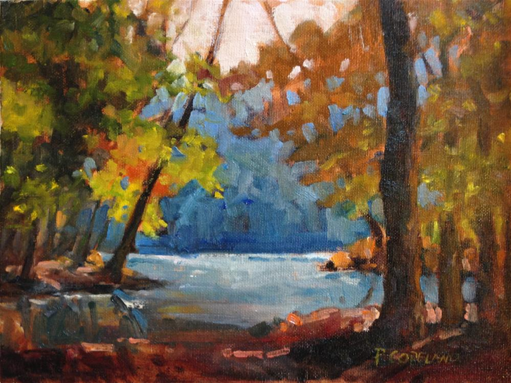 """Dawn at Tannehill"" original fine art by Pamela H. Copeland"