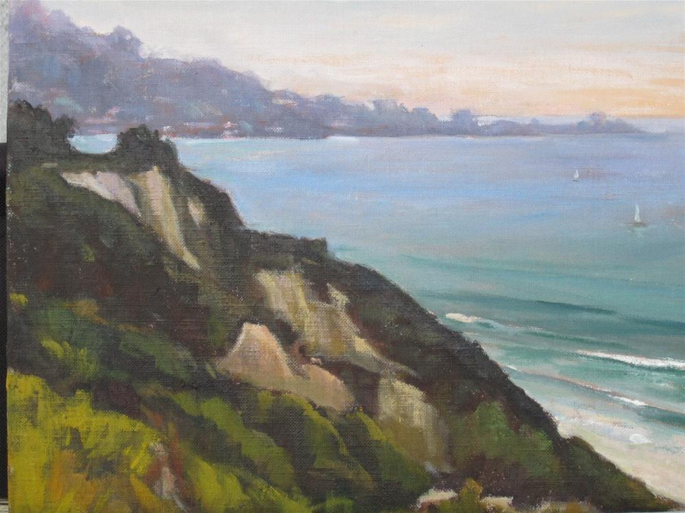 """La Jolla"" original fine art by Leigh Alexandra Sparks"