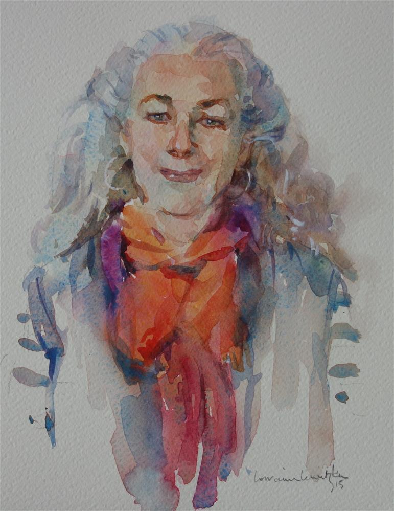 """""""Elegant Lady"""" original fine art by Lorraine Lewitzka"""