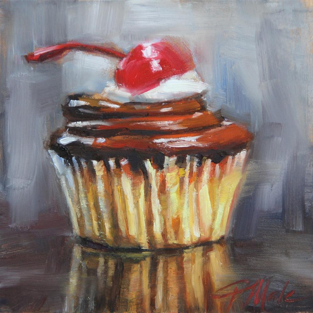 """With a Cherry On Top"" original fine art by Tracy Male"
