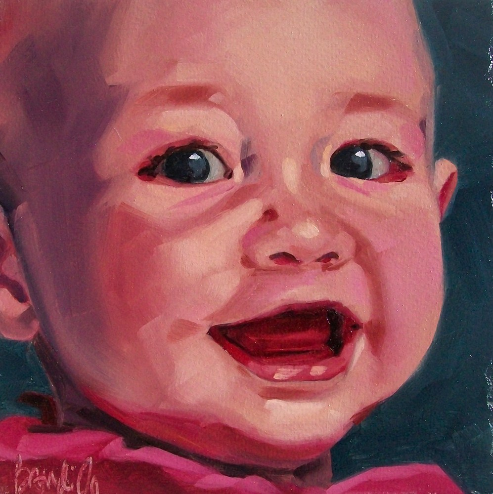 """Ellery"" original fine art by Brandi Bowman"