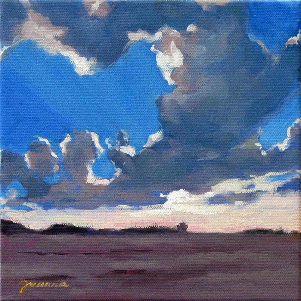 """Refreshing Sunset"" original fine art by Joanna Bingham"