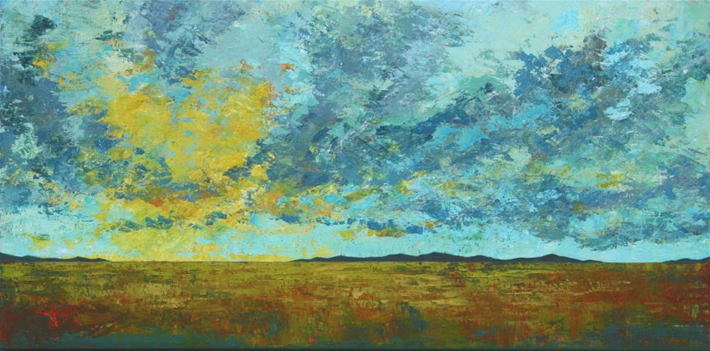 """Prairie Clouds"" original fine art by Sage Mountain"