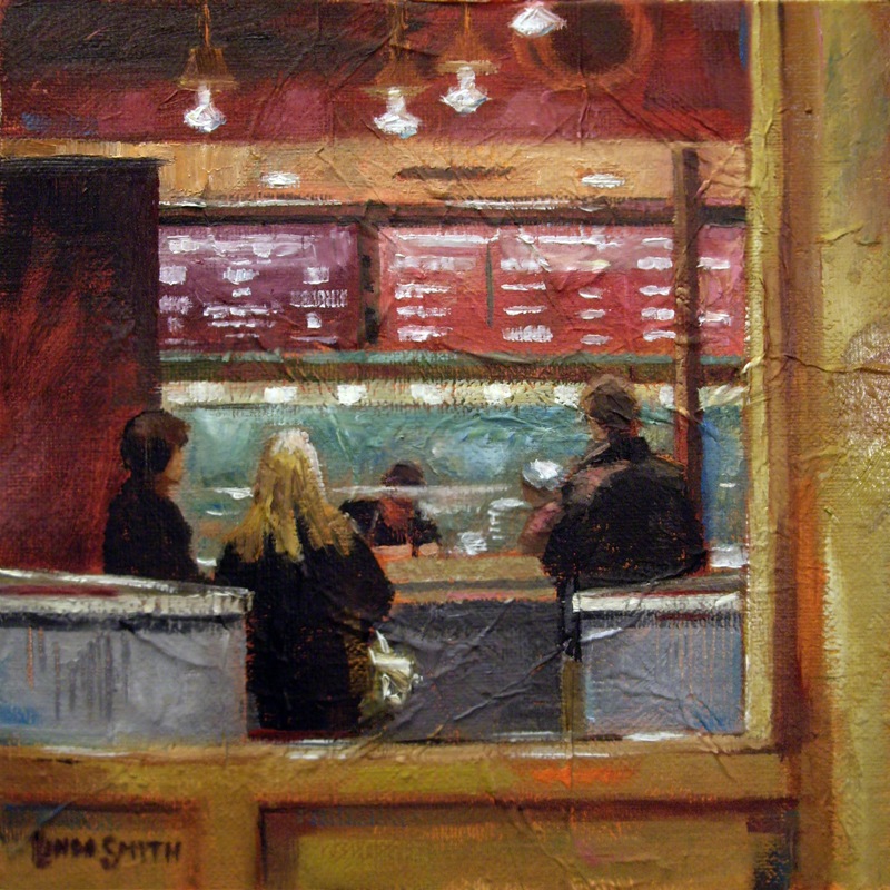 """Chipolte Colors"" original fine art by Linda K Smith"