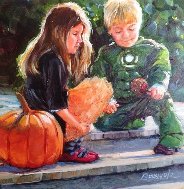 """Ready and Waiting"" original fine art by Terri Buchholz"