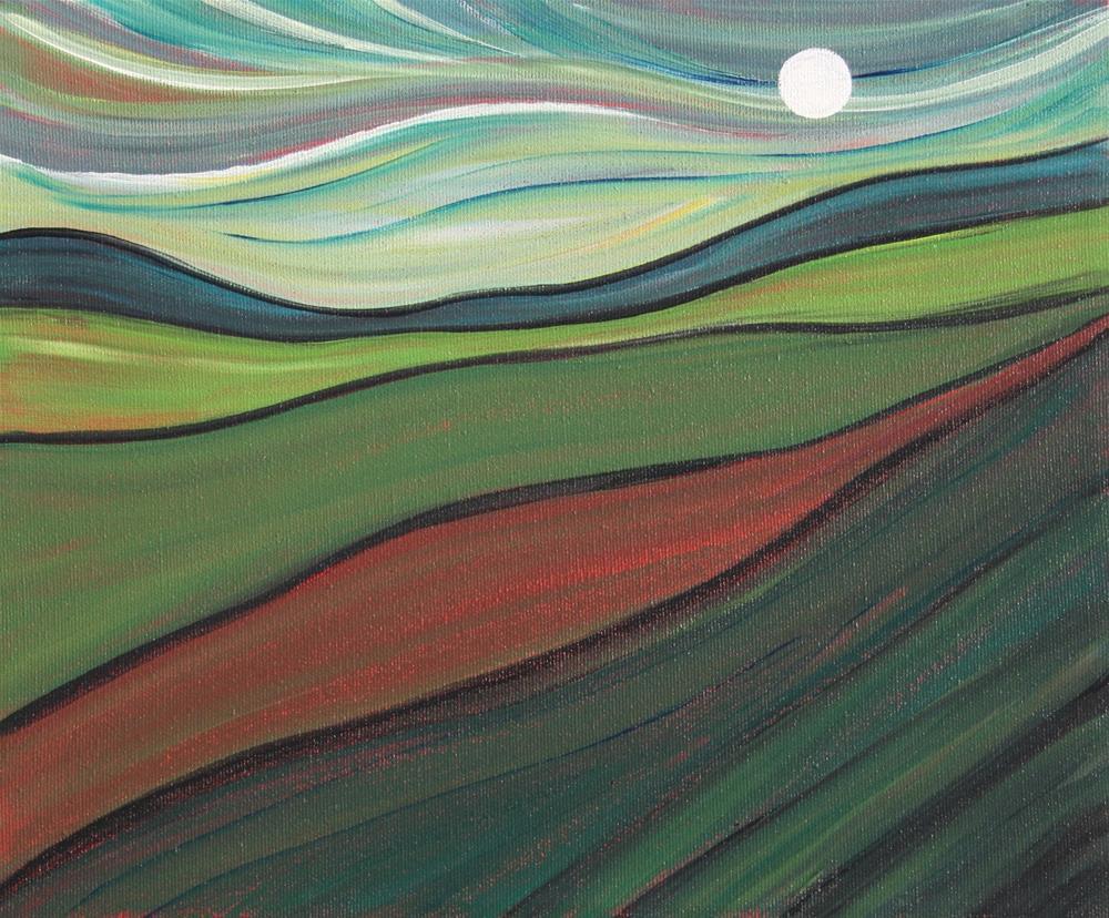 """A Sliver of Light"" original fine art by Sage Mountain"