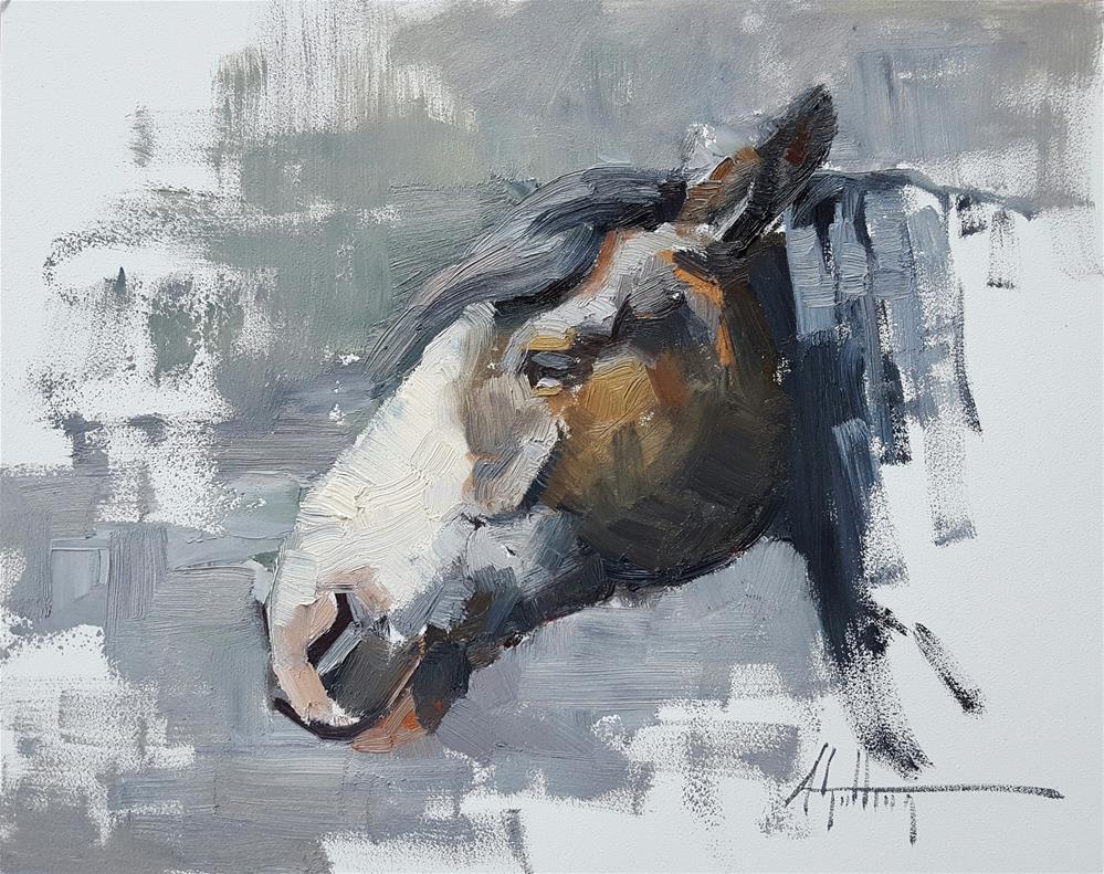 """Sketch #35"" original fine art by Abigail Gutting"