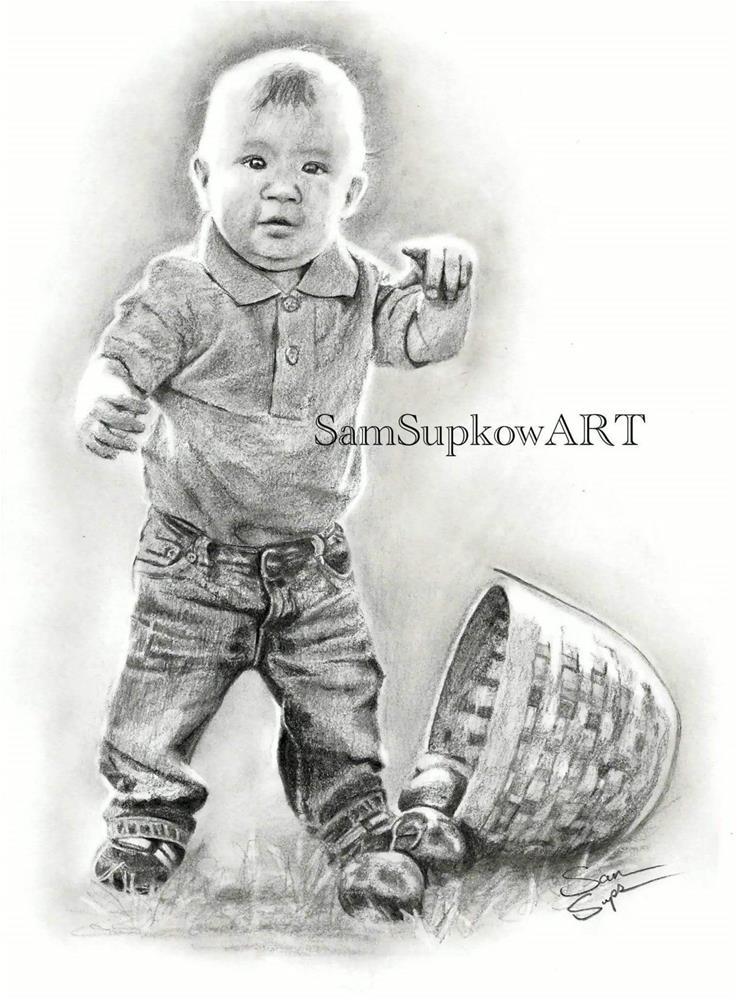 """Standing in the Light "" original fine art by Sam Supkow"