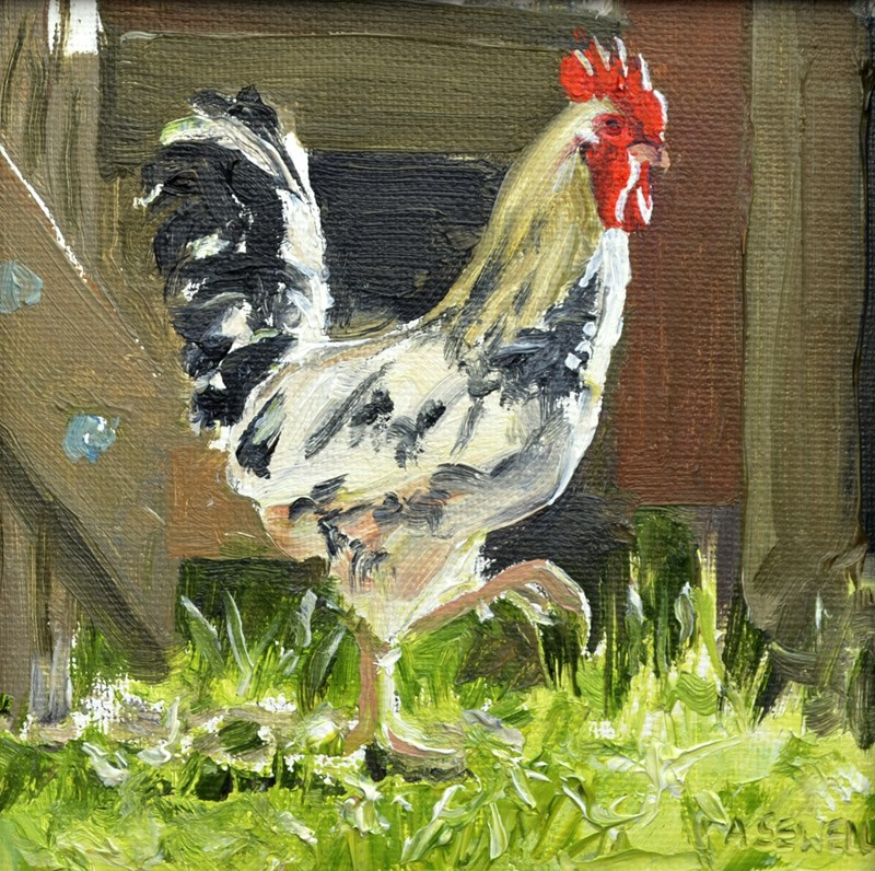 """""""Country High Stepper"""" original fine art by Andy Sewell"""